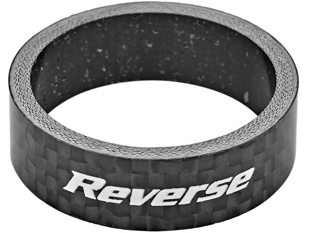 "Reverse Carbon Entretoise 10mm, 1 1/8"", black"